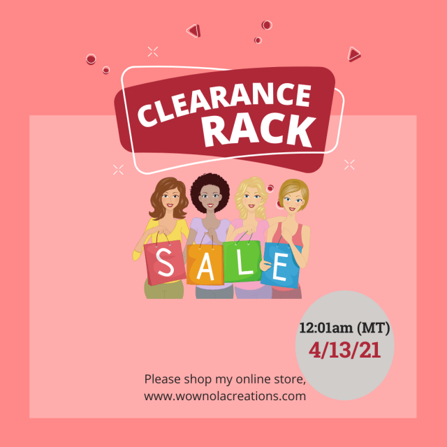 Clearance Rack Refresh, Susan Levasseur, WOW NOLA Creations, Stampin' Up!