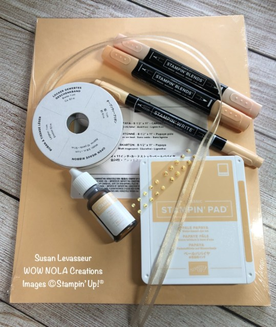 WOW In-Color Club 2021, Susan Levasseur, WOW NOLA Creations, Stampin' Up!