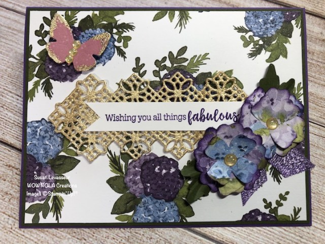 Flowers & Leaves Punch, Susan Levasseur, WOW NOLA Creations, Stampin' Up!