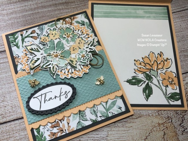 Techniques with the Hand Penned, Susan Levasseur, WOW NOLA Creations, Stampin' Up!