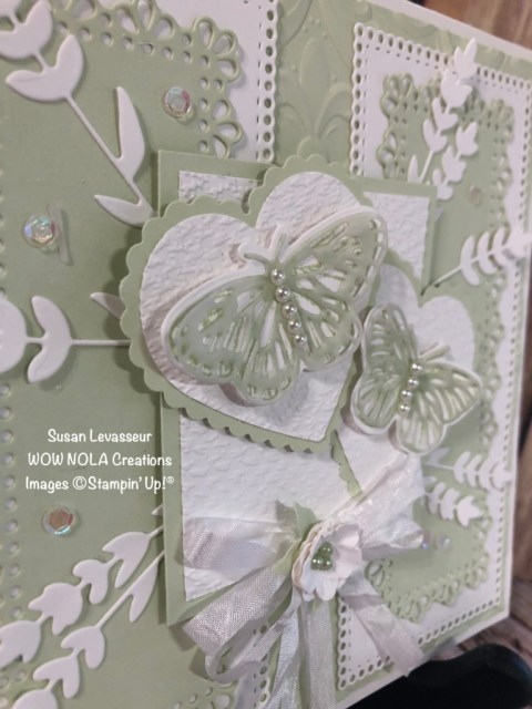 Very Vintage Shabby Chic, Butterfly Brilliance, Susan Levasseur, WOW NOLA Creations, Stampin' Up!
