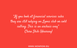 Clara Shih, Hearsay Social