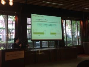 Roy Chandra, CustomerGauge, sharing insight on NPS response rate