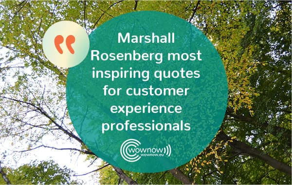 Marshall Rosenberg most inspiring quotes and intro to NVC