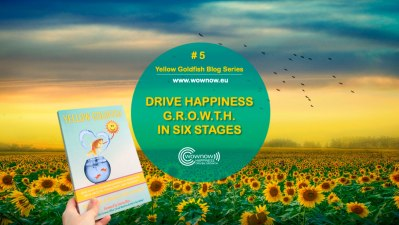 Yellow Goldfish series #5: Drive Happiness G.R.O.W.T.H. in Six Stages