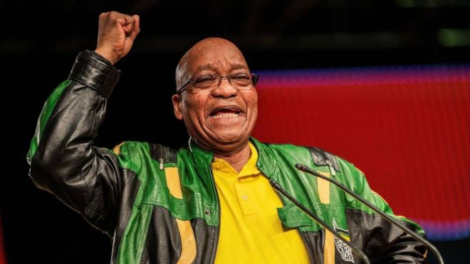How Jacob Zuma's presidency shaped South African speech