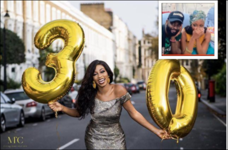 """""""The Best Gifts In My Life, I Treasure You"""" – Gedoni Celebrates His Girlfriend, Khafi As She Turns 30 Today"""