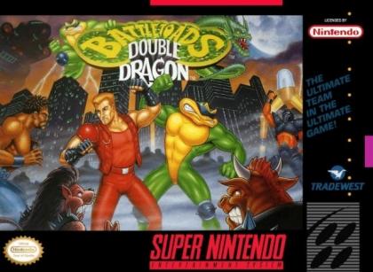 Battletoads & Double Dragon [USA]-Super Nintendo (SNES) rom descargar | WoWroms.com