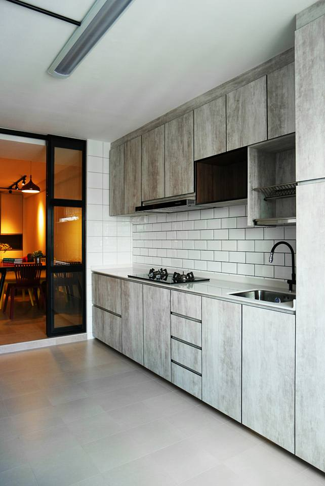 A RESALE 3R FLAT IN SINGAPORE GETS A MODERN RENOVATION Wow So Lush