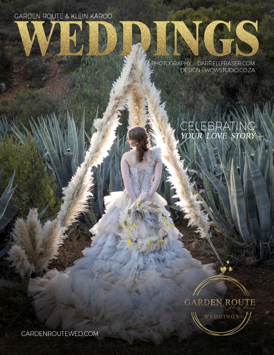 Garden Route Weddings Magazine Design WOW Creative Design Studio