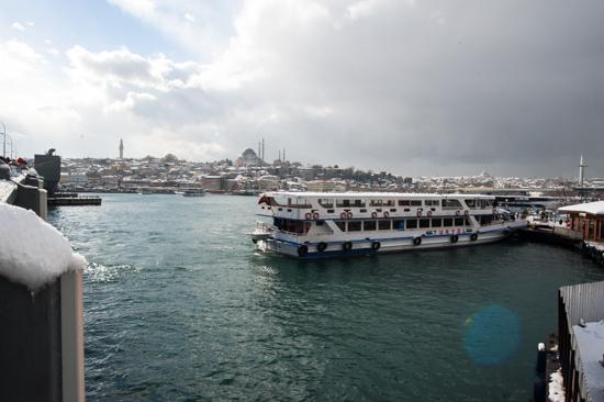 Istanbul dal Ponte di Galata
