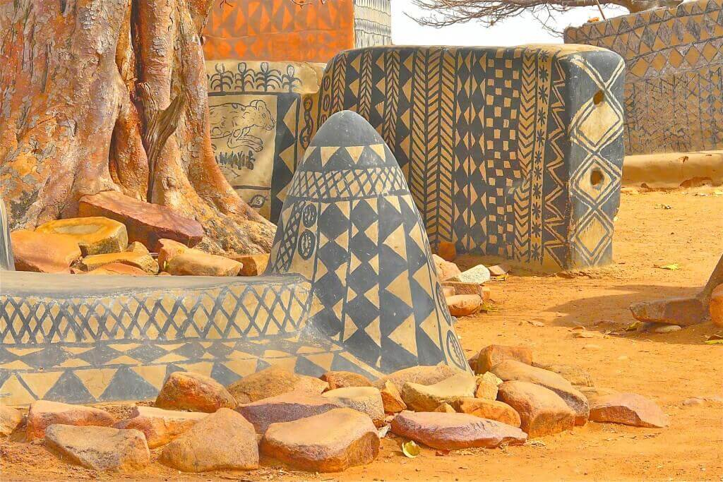 Tiébélé village - in Burkina Faso (6)