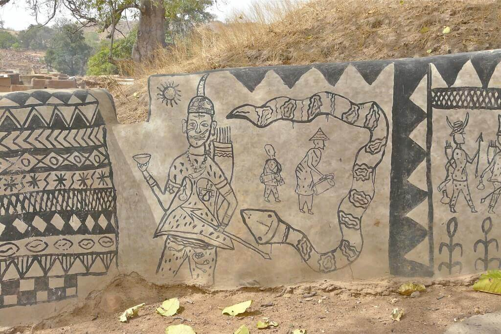 Tiébélé village - in Burkina Faso (7)