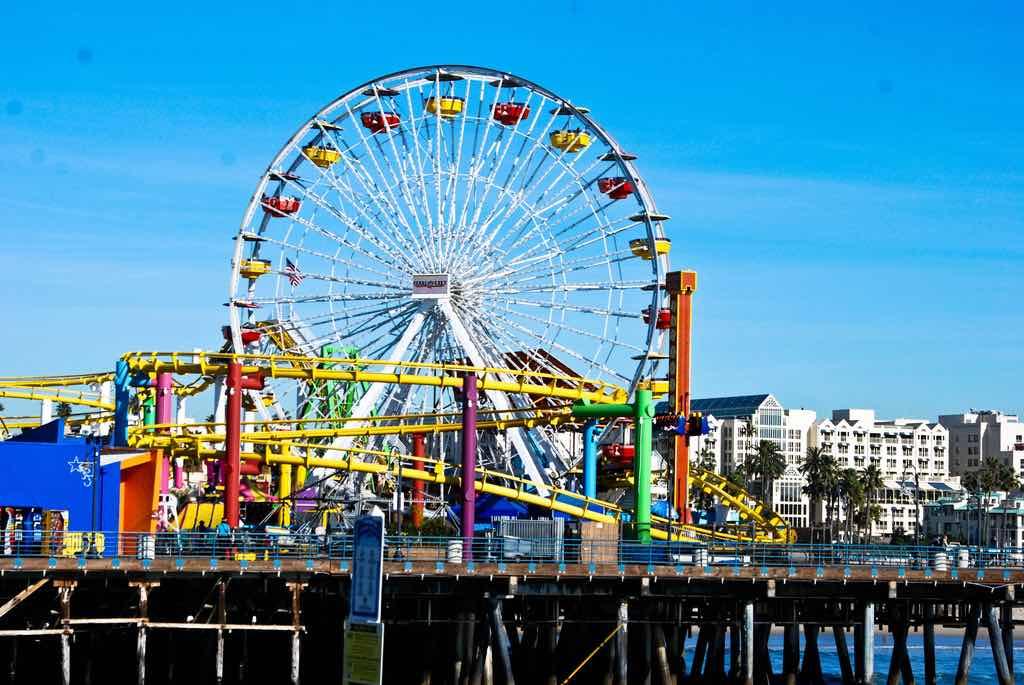 5. Pacific Park Wheel (Santa Monica, California) - by Robin Kanouse/Flickr