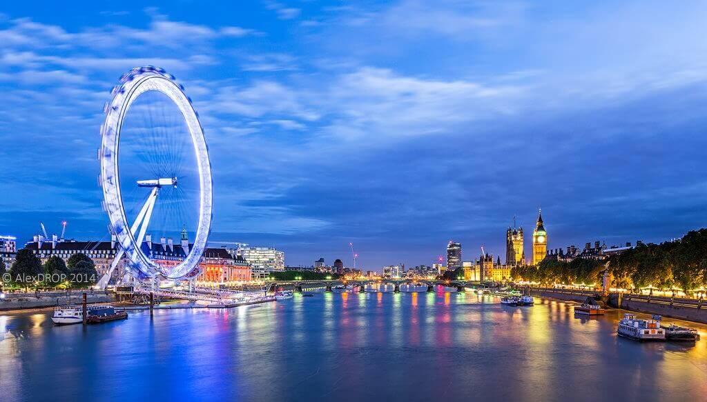 London Eye, London, UK - Source: Flicker/Alex DROP