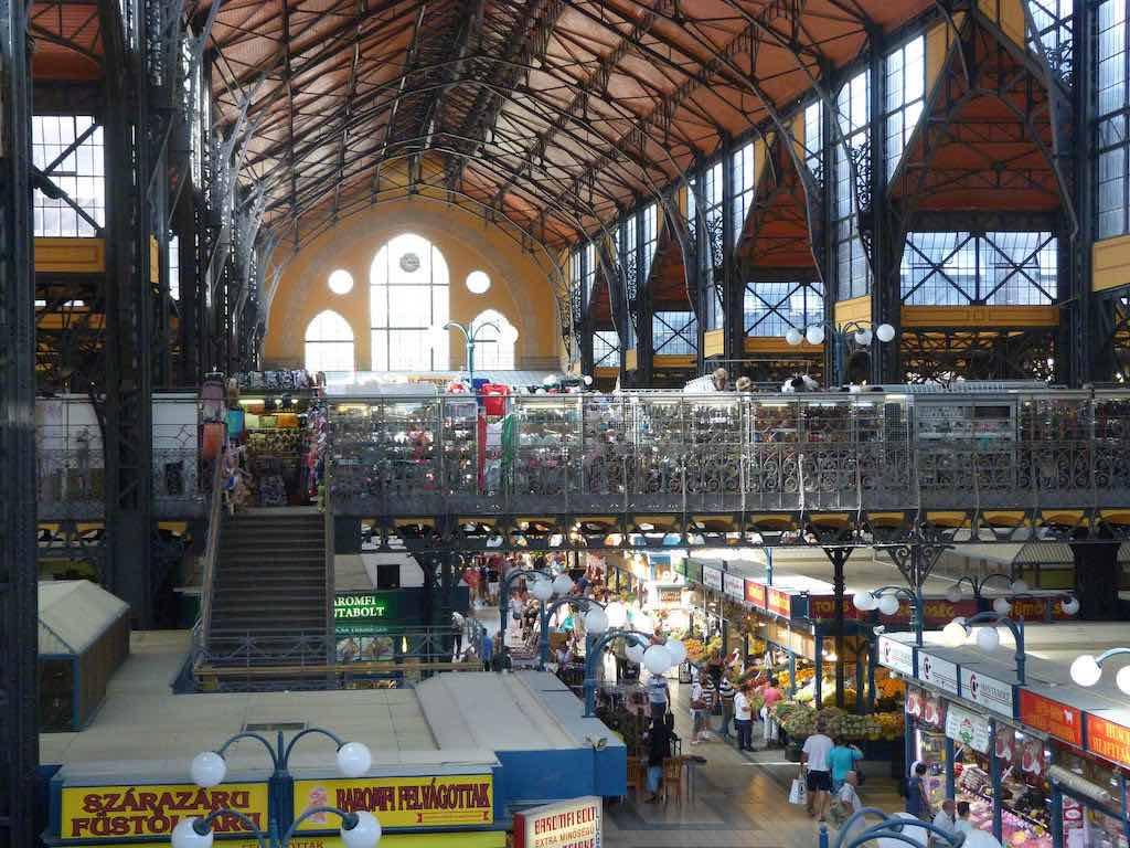Central Market Hall, Budapest - by stephen jones:Flickr