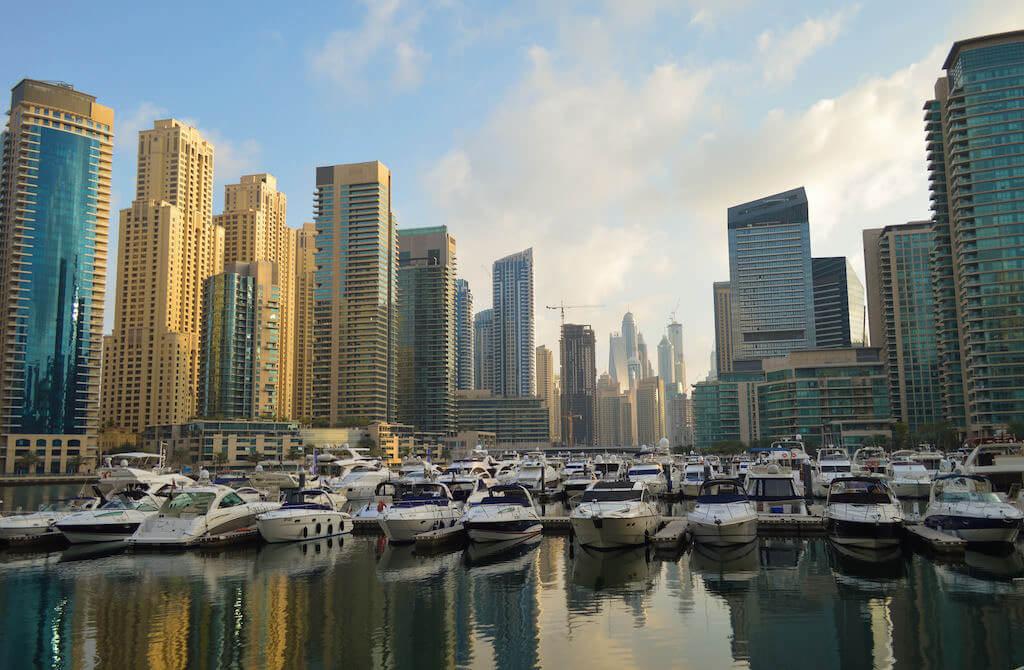 Dubai Marina - by Francisco Anzola:Flickr