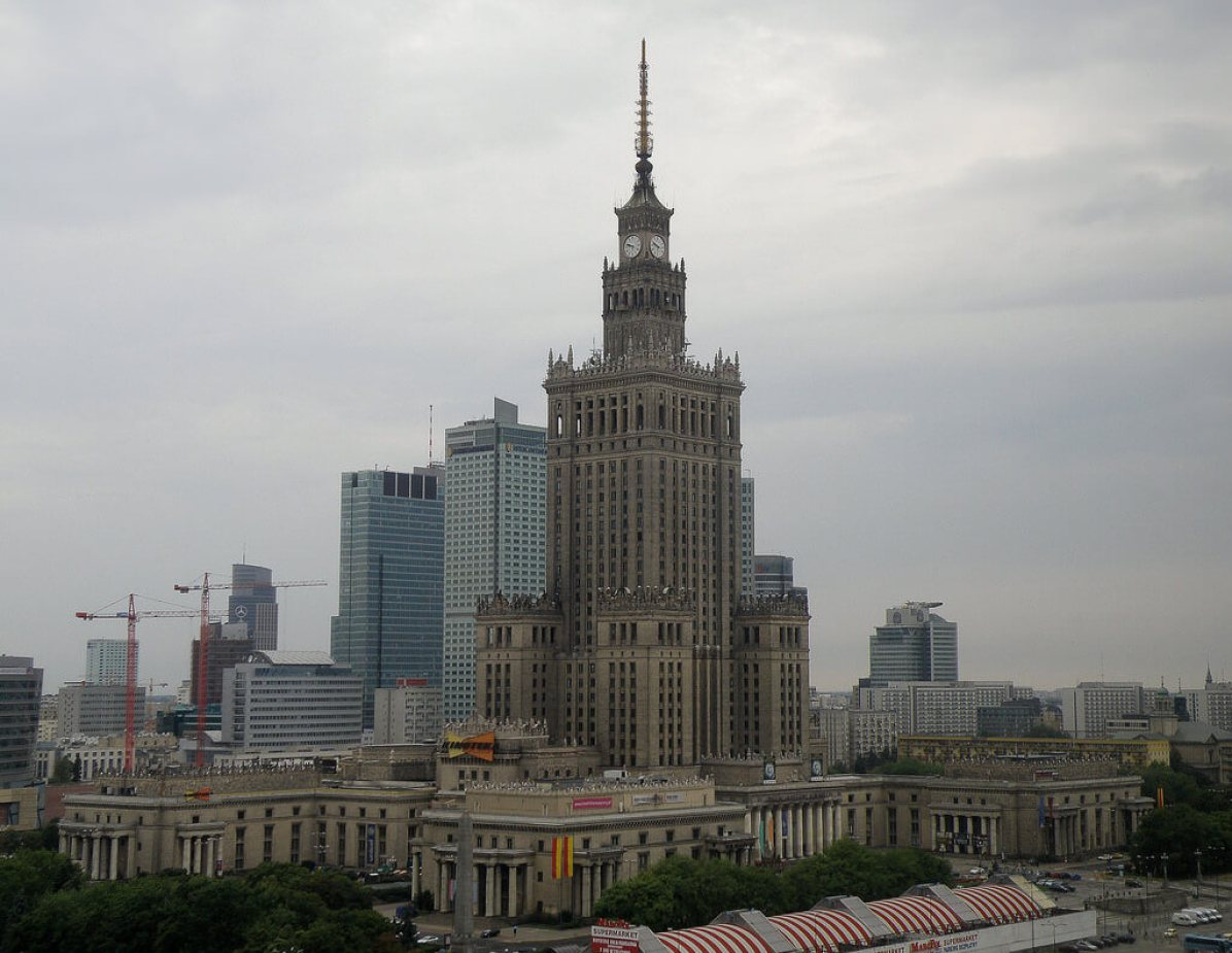 Palace of Culture and Science, Warsaw - by Jim Bowen:Flickr