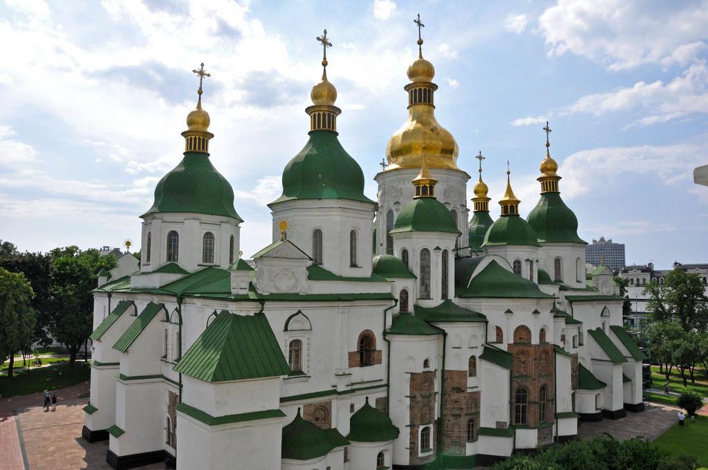 St. Sophia's Cathedral, Kiev - by Jennifer Boyer - Anosmia:Flickr