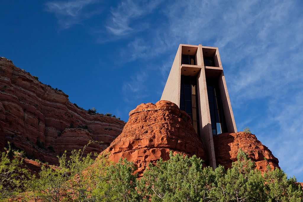 Chapel of the Holy Cross, Sedona, Arizona - by Matthew P. Del Buono:Wikimedia