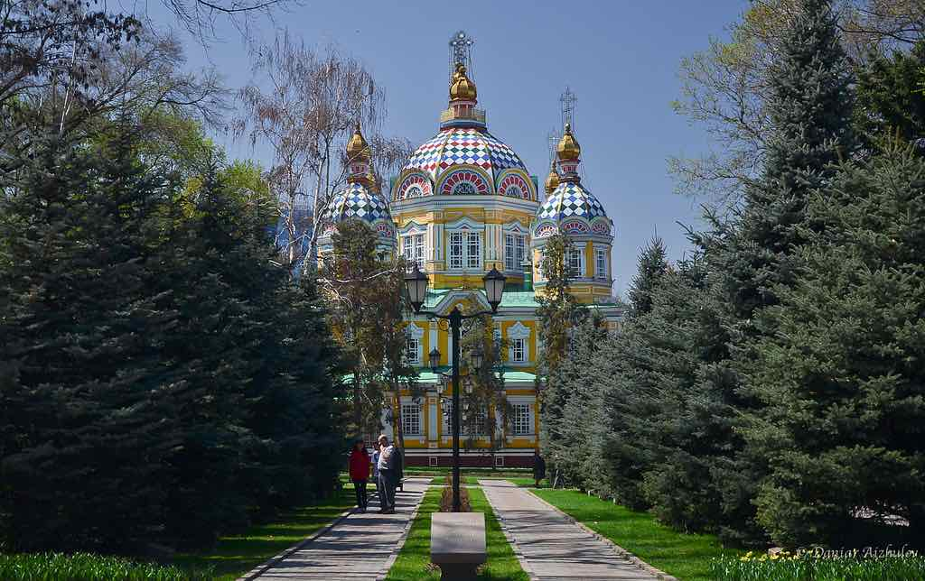 Zenkov Cathedral, Kazakhstan - by Aizhol:Flickr