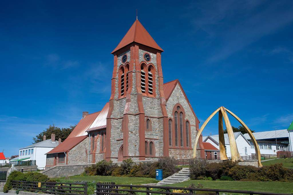 Christ Church Cathedral, Falkland Islands - by Dwilliams851:Flickr