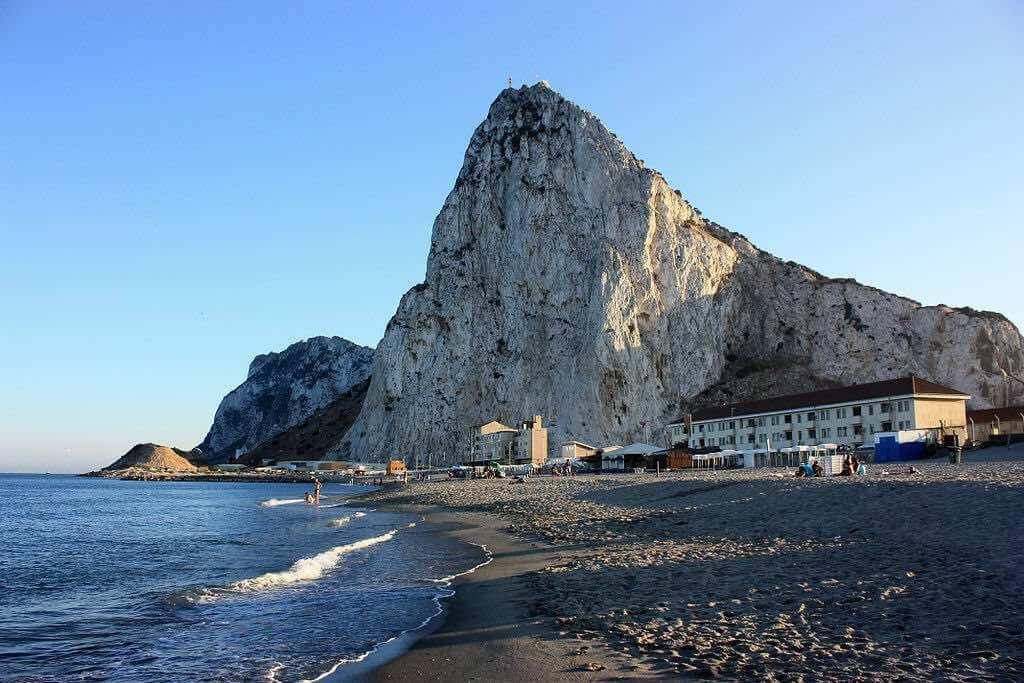 Eastern Beach, Gibraltar - by Gibmetal77:Wikimedia