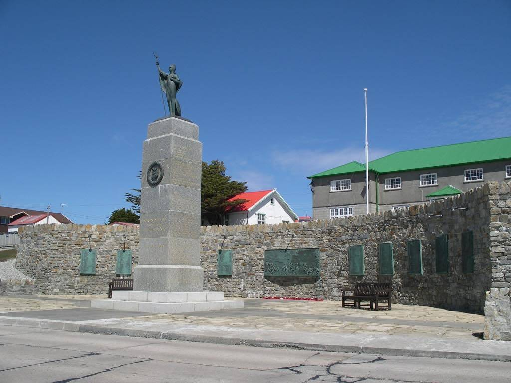 Liberation Monument, Falkland Islands - by Phil Gyford:Flickr