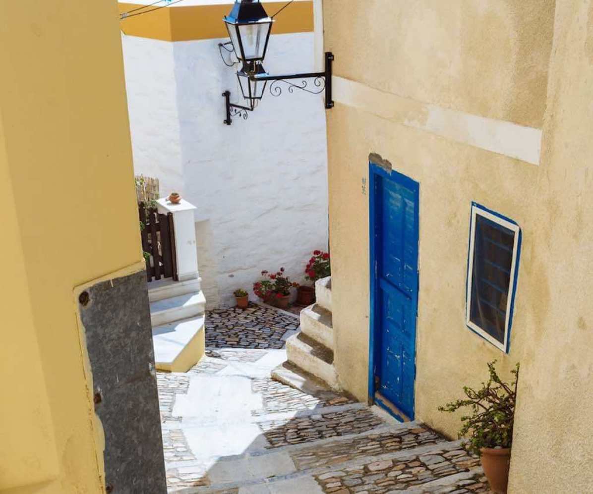 Ano Syros, Syros - by the Municipality of Syros-Hermoupolis