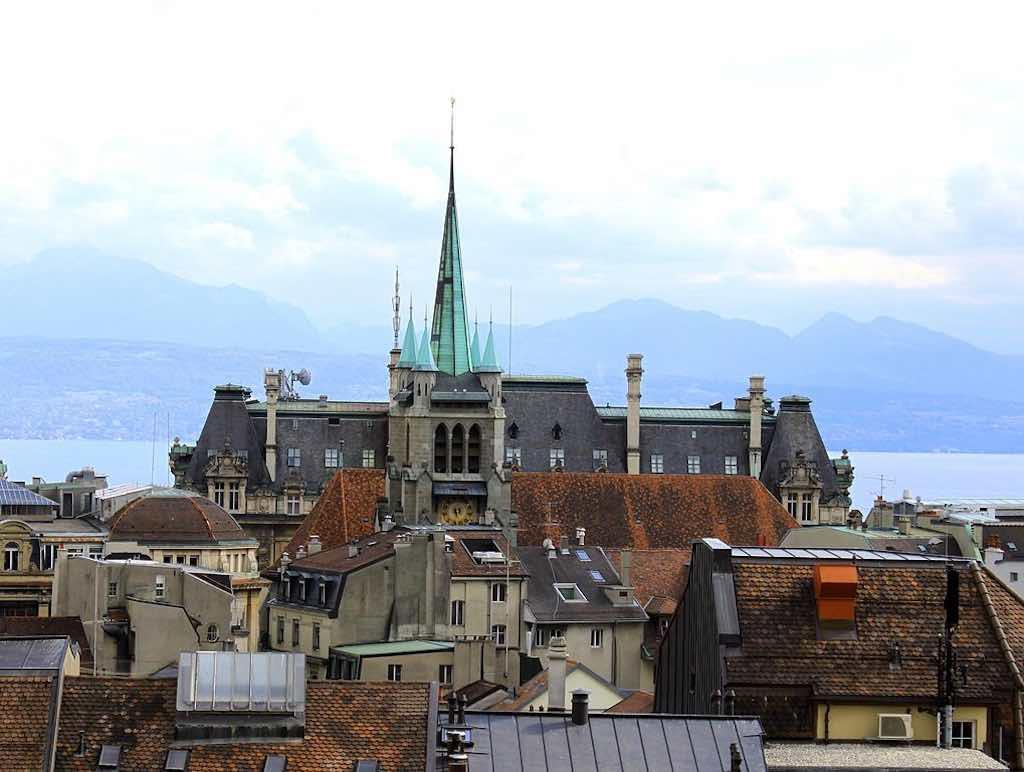St. François, Lausanne - by Odrade123/Wikimedia