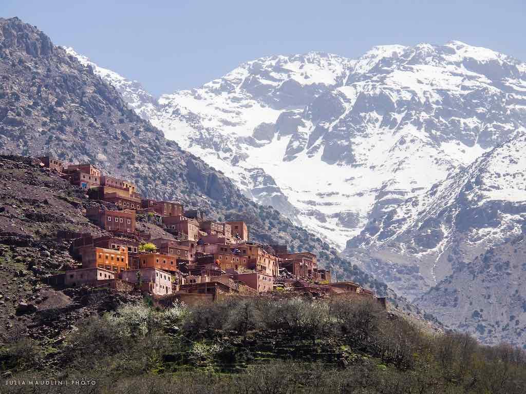 Berber Village & Mount Toubkal, Morocco - by Julia Maudlin - juliamaudlin:Flickr