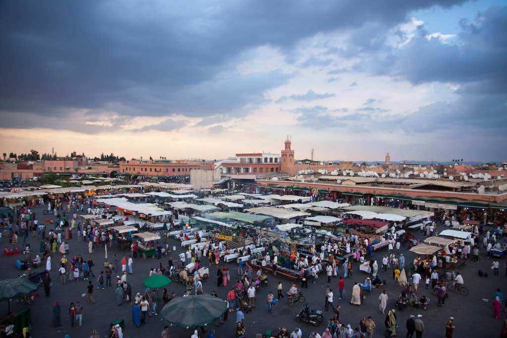 Djemaa el Fna, Marrakech - by Tomasz Dunn - tomaszd:Flickr
