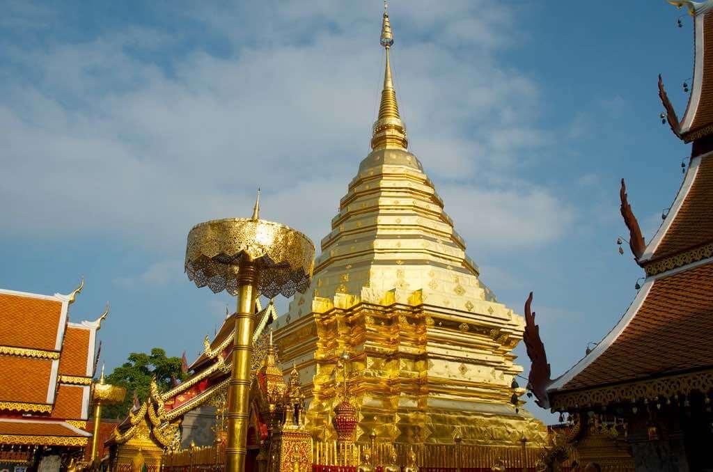 Wat Phrathat Doi Suthep, Chiang Mai - by Mike Deerkoski - deerkoski:Flickr