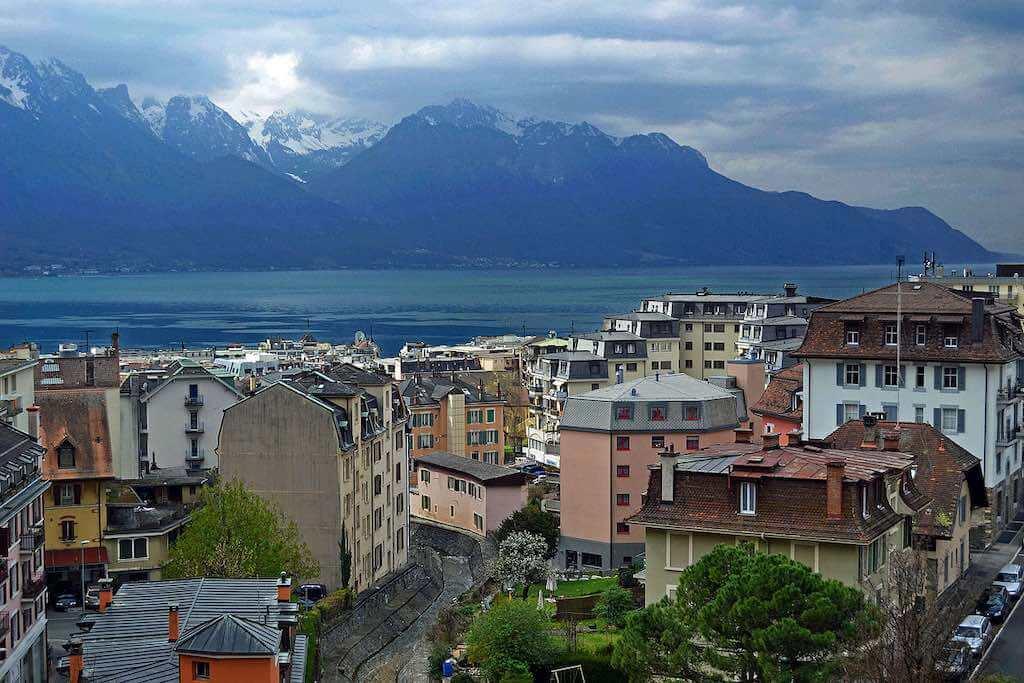 Montreux, Switzerland - by Nserrano:Wikimedia