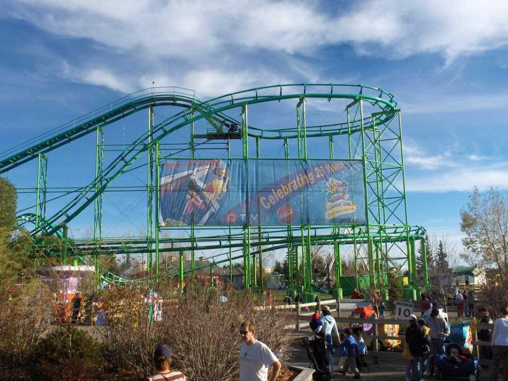 Calaway Amusement Park, Calgary -by Wikimedia.com