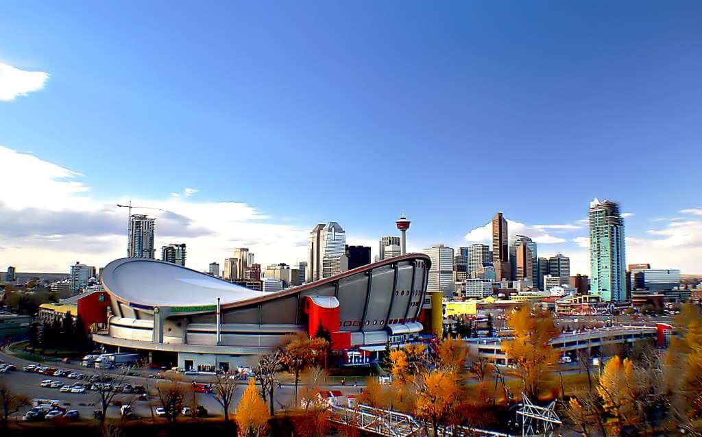 Scotiabank Saddledome, Calgary -by Bernard Spragg. NZ/Flickr.com