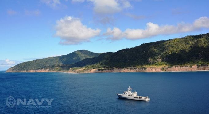 Raoul Island -by Royal New Zealand Navy/Flickr.com