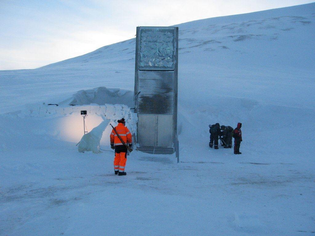 Svalbard Global Seed Vault, Norway -by Dag Terje Filip Endresen/Wikimedia.org