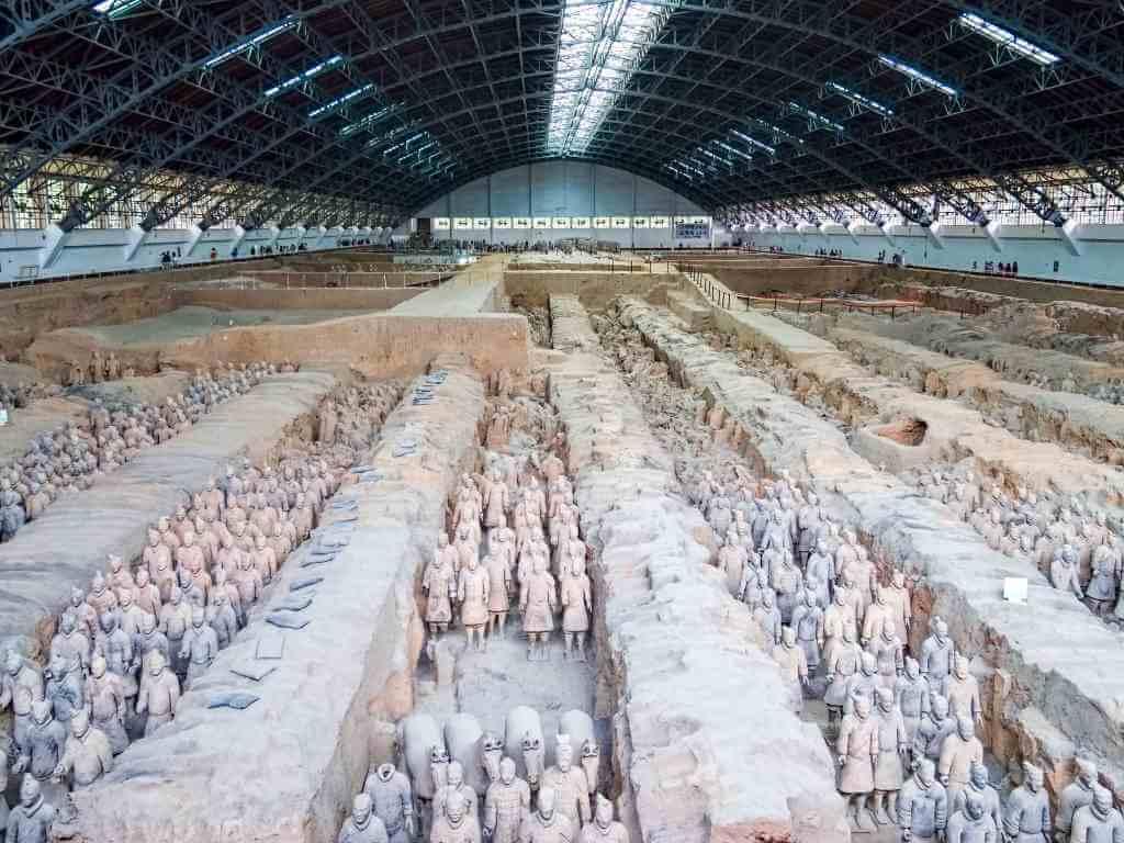 Tomb of Qin Shi Huang, China -by Dan Lundberg/Flickr.com