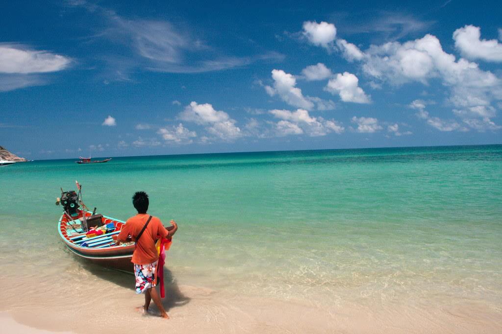 Bottle Beach, Koh Phangan -by Christian Haugen / Flickr.com