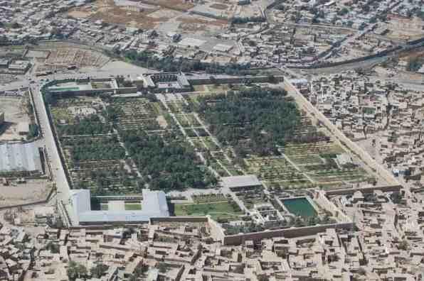 Babur Gardens -Jim Kelly/ Wikimedia.org