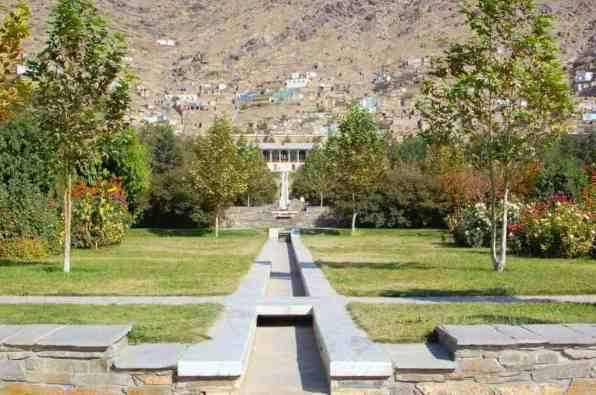 Babur's Gardens -by Jim Kelly/Wikipedia.org