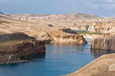 Band-e-Amir National Park -by Sgt. Ken Scar/Wikimedia.org