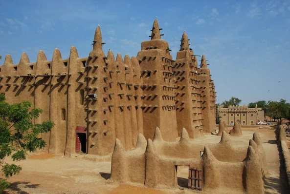 Grande Mosque of Djenne -by POTIER Jean-Louis/Flickr.com