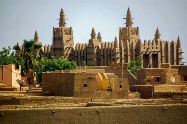Great Mosque of Djenne -by Ralf Steinberger/Flickr.com