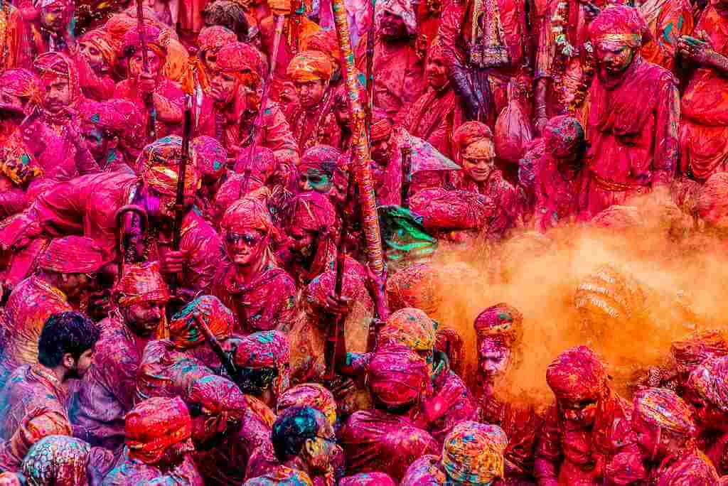 Holi, India -by Saurabh Chatterjee/Flickr.com