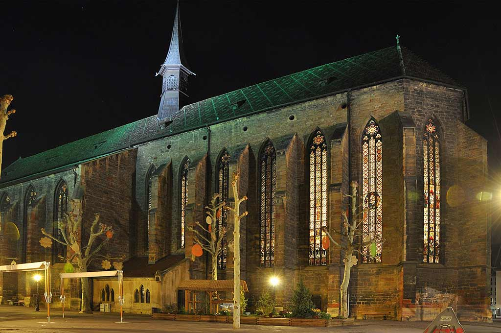 Église des Dominicains in Colmar by Russ Bowling/Wikipedia.org