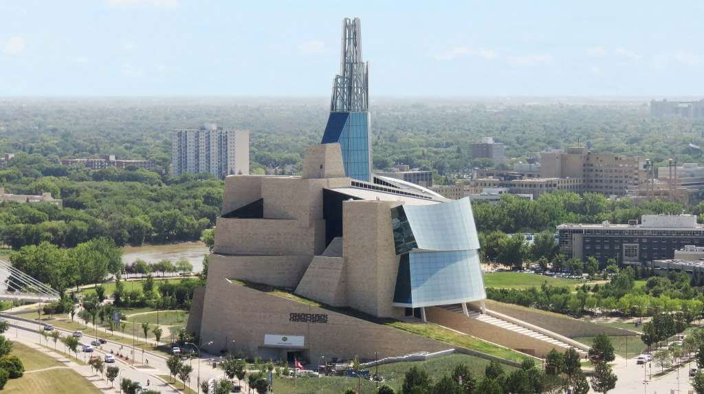 Canadian Museum for Human Rights -by Robert Linsdell/Flickr.com