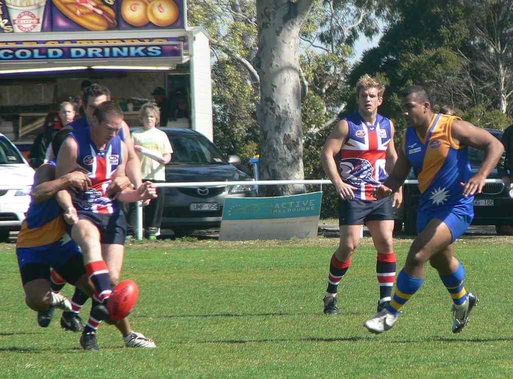 Australian Rules Football Game, Nauru - by Rulesfan / wikimediacommons.com