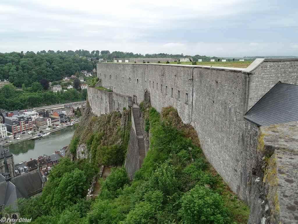 Citadel Dinant, Belgium - by Peter Olthoff/flickr.com